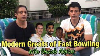 Modern Greats of Fast Bowling with Shoaib Akhtar | BolWasim |