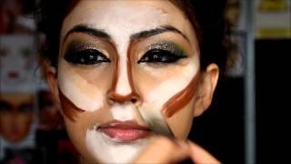 Pakistani bridal makeup mehndi mayun bride slough -  5day MAKEUP COURSES