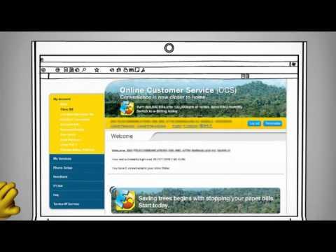 How do I sign up for e-billing online with DiGi?