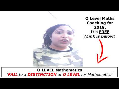 She failed her Maths and then scored a Distinction for the actual