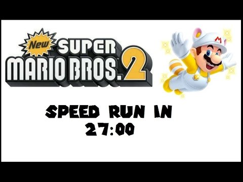 (Obsoleted PB) New Super Mario Brothers 2: Any% Speed Run in 27:00