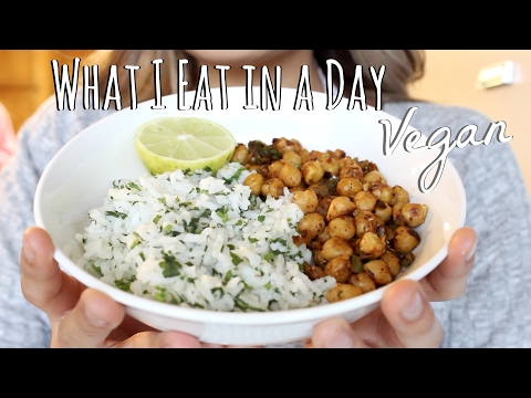 WHAT I EAT IN A DAY - Healthy Vegan Food | ItsMandarin