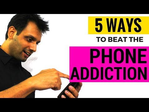 5 ways to Beat the Phone Addiction