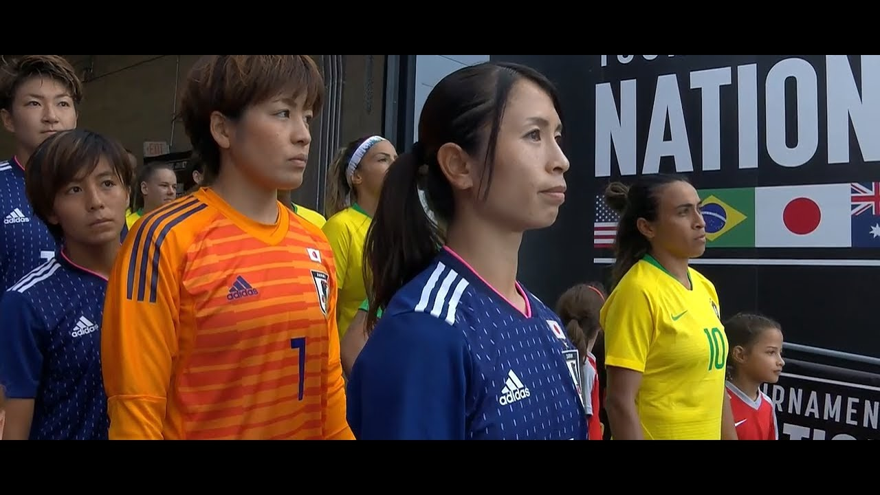 (1) Japan vs Brazil 7.29.2018 / Tournament of Nations 2018