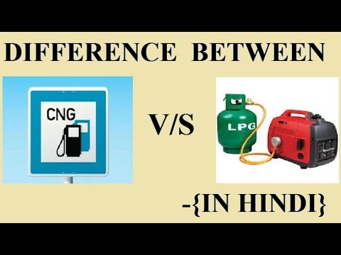 DIFFERENCE BETWEEN CNG VS LPG GAS IN HINDI (WITH USES ,ENVIORNMENTAL EFFECTS)
