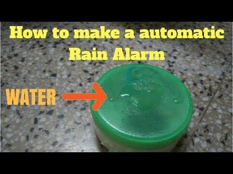 WOW!!! Amazing Homemade Automatic Rain Alarm.|Water Alarm|.