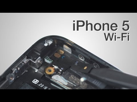 Wifi antenna Repair - iPhone 5 How to Tutorial