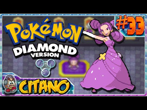 Let's Play Pokemon Diamond - #33: Fantina and the Relic Badge