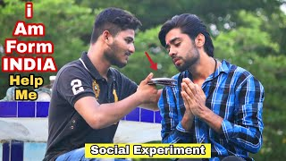 I am from India | social experiment in Pakistan | A.JAhsan