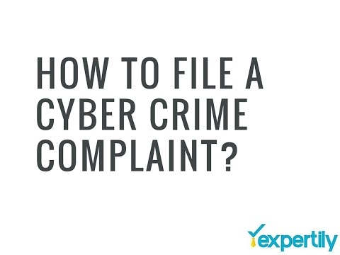 How to File a Cyber Crime Complaint in India?