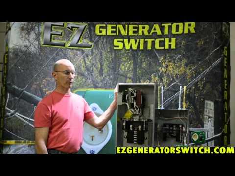 EZ Generator Switch - Automatic vs. Manual Transfer Switch