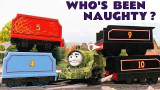 Thomas & Friends Who's Been Naughty Tom Moss Game with Lion Guard Train Toys Stories for Kids TT4U