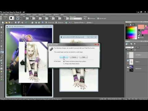 Paint shop pro photo Basics Tutorial 1
