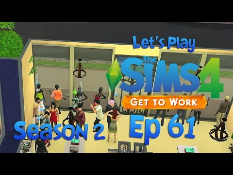 The Sims 4 Get to work S2 Ep 61 Worst employee ever 60 FPS