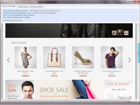 Finding eSpots in WebSphere Commerce