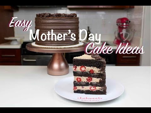 Easy Mother's Day Cake Ideas - Amazing Cake Compilation  | CHELSWEETS