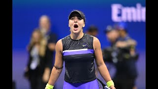 Belinda Bencic vs Bianca Andreescu Extended Highlights   US Open 2019 SF