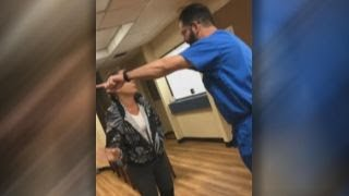 Graphic language: Doctor tells patient to