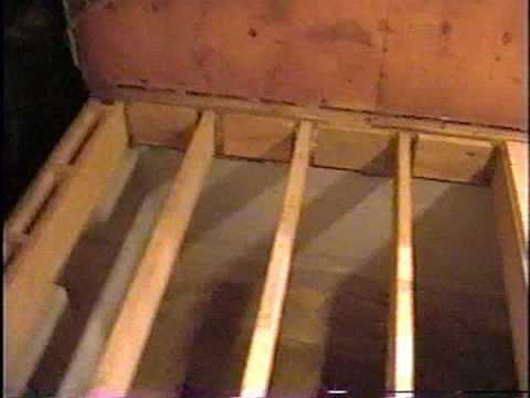 DIY 12 - Subfloor & wall framing