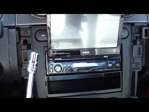 How To Remove Install Add Car Radio Stereo Receiver in a Ford Mustang 2005-2009 DIY