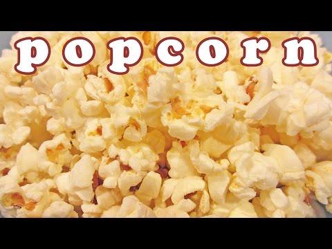 Microwave Popcorn Butter - Buttered Pop Corn Kernel - Easy Dessert Recipes - Finger Foods - Jazevox