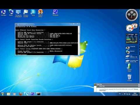 reinitialiser parametres carte réseau sous windows 7 / 8 /10