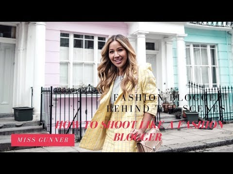FASHION BLOGGER BEHIND THE SCENES | How to shoot like a fashion blogger