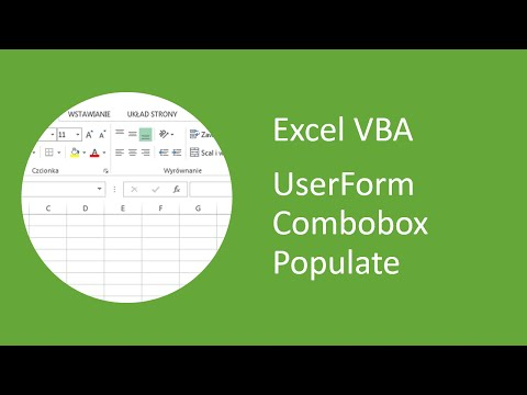 Excel VBA UserForm Combobox Populate from an Array
