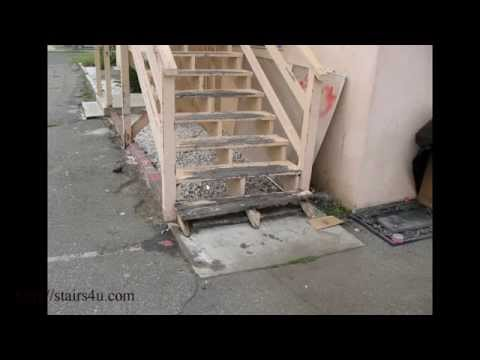 Watch This Video Before Building Exterior Wood Stairs – Consumer Construction Awareness