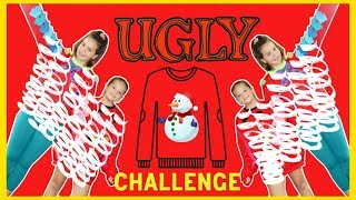 WE LET OUR INSTAGRAM FOLLOWERS CHOOSE OUR UGLY CHRISTMAS SWEATER WINNER | SISTER FOREVER