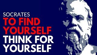 Socrates ⟐To find yourself, think for yourself ❞