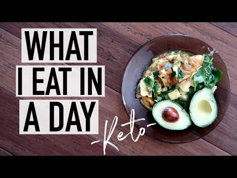 KETO WHAT I EAT IN A DAY (Low Carb) + UPDATE!
