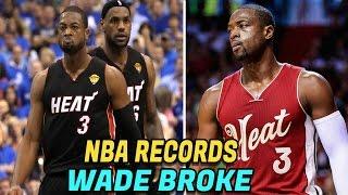 6 NBA Records Dwyane Wade Has Broken! Crazy NBA Records NBA Fans Must Know!