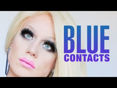 Blue Contacts for Dark Brown Eyes : Product Review