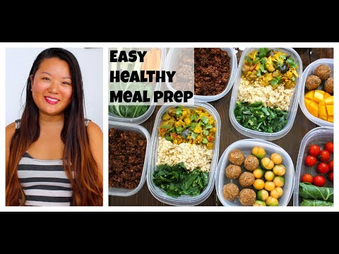 Easy Healthy Meal Prep - Breakfast and Lunch Recipes