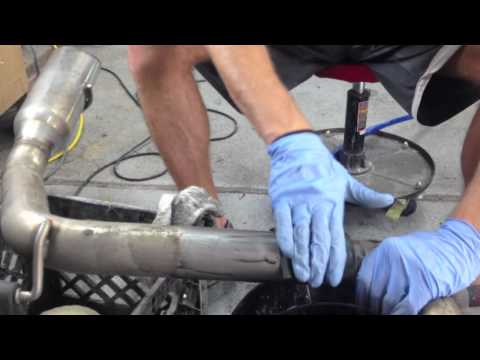 HOW-To POLISH IRS CATBACK EXHAUST