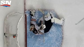 Talbot Makes Very, Very Early Save of the Year Entry