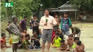 Flood affected people in Dinajpur alleges not getting relief