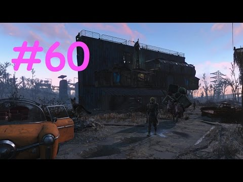 Fallout 4 [#60] Building Up Starlight Drive-In (Workshop Base Building)