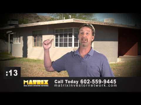 Matrix Real Estate Investor Network Phoenix TV Ad