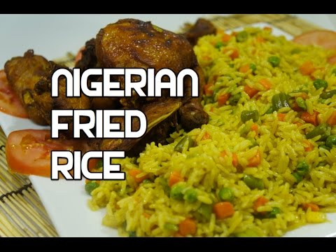 ★★ How to Cook Nigerian Fried Rice Recipe