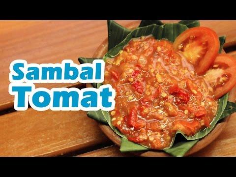 Resep dan Cara Membuat Sambal Tomat
