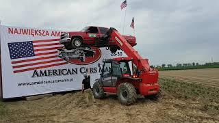 Amercian Cars Mania 2019 - Lifting operation of Chevrolet Silverado 3500