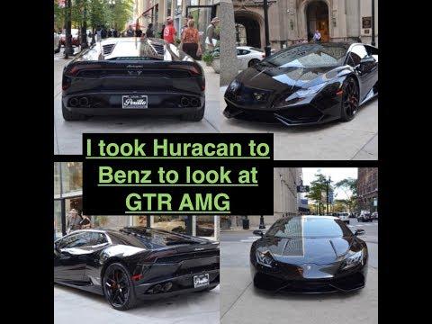 Persist Theory Lamborghini vs GTR amg