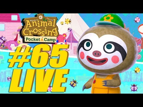 Leif Garden Event! Animal Crossing: Pocket Camp Live Stream