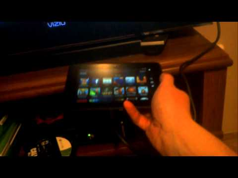 Hooking kindle fire HD to tv