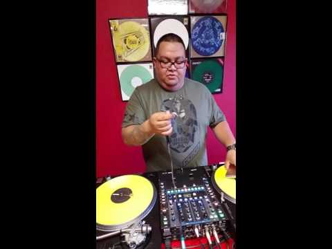 How to record audio from your dj mixer to iPhone or iPad  via Facebook live or youtube