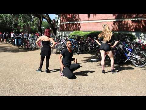Single Ladies Dance- Flash Mob (Trio)