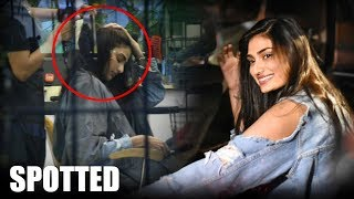 Athiya Shetty SPOTTED At A Salon In Juhu