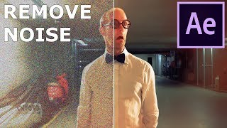 How To Remove Noise From Video in After Effects - No Plugins